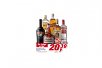 baileys grand marinier johnnie walker red label gordons captain morgan of smirnoff