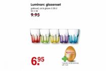 luminarc glazenset