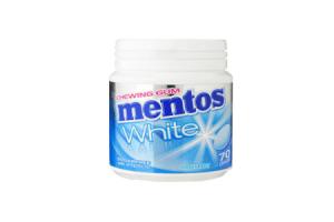 mentos gum white sweet mint 70 stuks