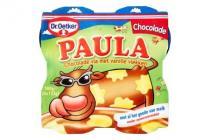 dr. oetker paula chocolade met vanillevlekken