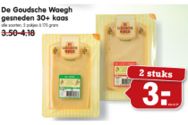 de goudsche waegh gesneden 30plus kaas 175gram