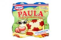 dr. oetker paula vanille met chocovlekken