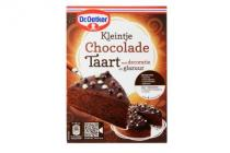 dr. oetker kleintje chocolade taart
