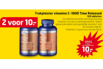 trekpleister vitamine c 1000 time released