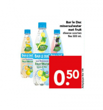 bar le duc mineraalwater met fruit