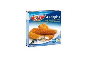 iglo gepaneerde vis crispino