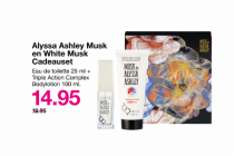 alyssa ashley musk en white musk cadeauset