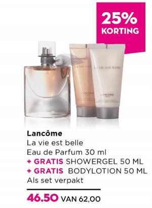 eau de parfum 30 ml plus bodylotion 50 ml plus showergel 50 ml