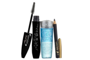 zwarte mascara plus zwart mini kohlpotlood plus bi facil 30 ml