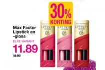 max factor lipstick en  gloss