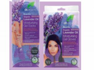 dr. organic lavender oil gel gloves of lavender oil moisterising gel socks