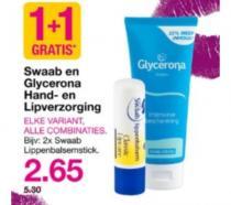 swaab en glycerona hand  en lipverzorging