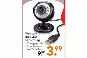 webcam met led verlichting