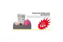 therme zen white lotus geschenkset