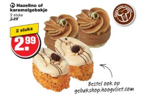 hazelino of karamelgebakje