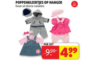 poppenkleertjes op hanger