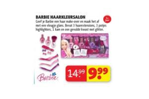 barbie haarkleursalon