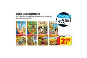 studio 100 voorleesboek