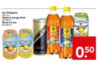 san pellegrino shakura energy drink of rauch ice tea