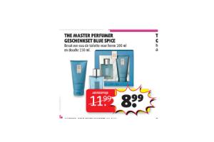 the master perfumer geschenkset blue spice