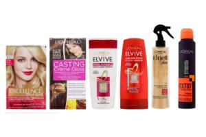 40 korting op loreal paris haarkleuring shampoo cremespoeling en haarstyling