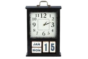 klok met kalender