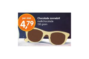 chocolade zonnebril