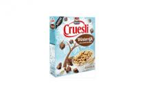 quaker cruesli winterrijk chocolade brownie