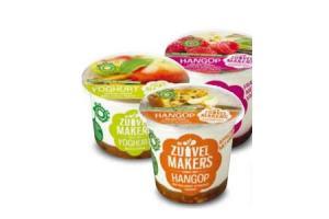zuivelmakers hangop of yoghurt met vruchten