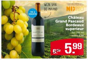 chateau grand pascaud bordeaux superieur