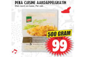 peka cuisine aardappelgratin