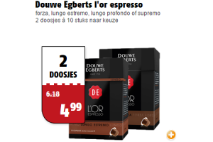 douwe egberts lor espresso