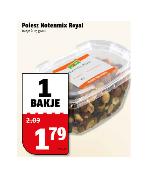 poiesz notenmix royal