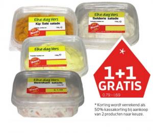 salades boni supermarkt