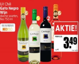 gato negro wijn