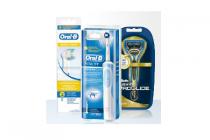 oral b tandenborstel electro of opzetborstel gillette fusion proglide of mach 3 turbo scheermesjes