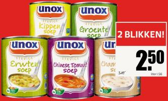 unox stevige soep