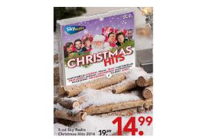 5 cd kersthits