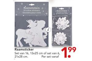 raamsticker