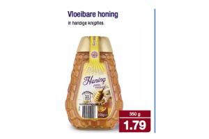 de zoete zon vloeibare honing
