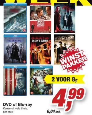 dvds of blu ray