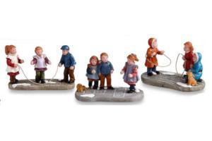 typisch hollands spelende kinderen