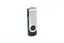 metal usb stick 2.0 grijs 8 gb