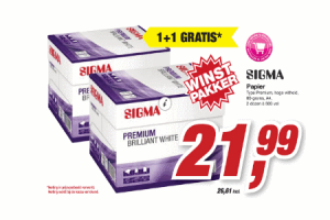 sigma papier type premium hoge witheid 80 grams