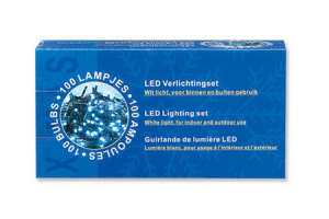 buitenverlichting micro 100 led lampjes wit