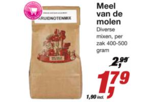 meel van de molen diverse smaken 400500gram