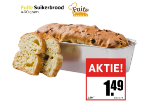 fuite suikerbrood