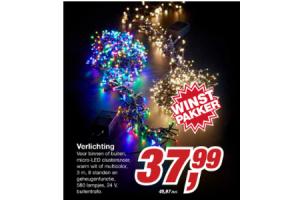 makro verlichting 580 lampjes