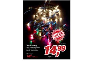 makro verlichting 80 lampjes
