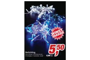 makro verlichting 40 lampjes